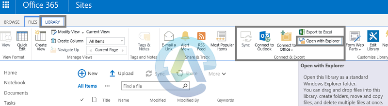 Move files using 'Open with Explorer'